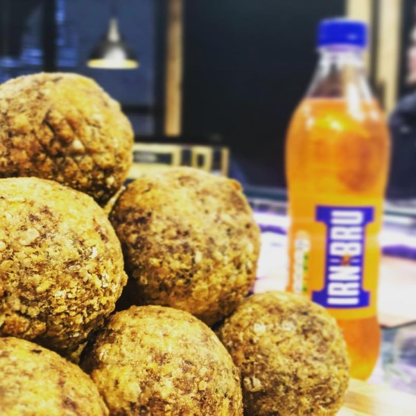 Haggis with Lorne Sausage Scotch Eggs!!
