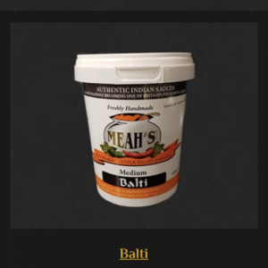 Balti Curry Sauce - Medium