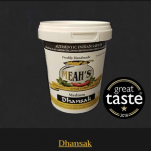 Dhansak Curry Sauce - Medium